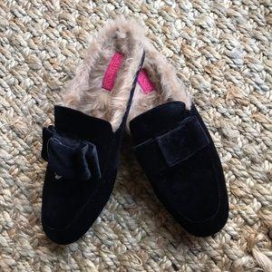New! Catherine Malandrino velvet loafers
